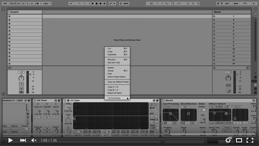 Five Ableton Settings Video