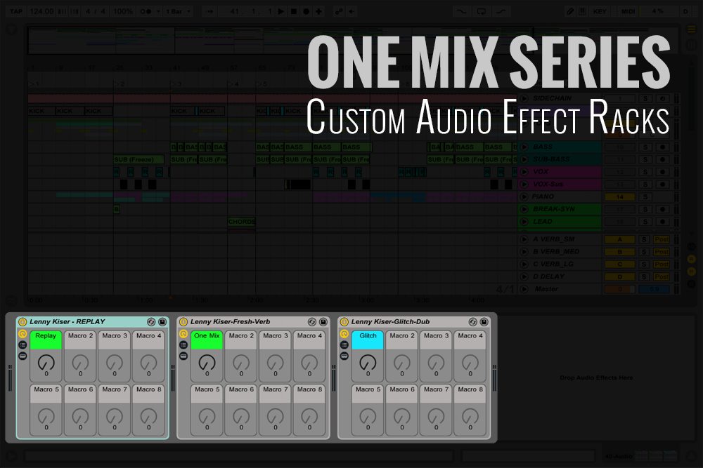 One Mix Series Effect Racks